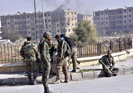 Quan doi Syria thang nhu che tre o Dong Aleppo - Anh 8