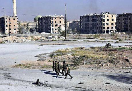 Quan doi Syria thang nhu che tre o Dong Aleppo - Anh 9