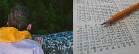 Quiz tieng Anh: Nhin hinh doan diem chung - Anh 11