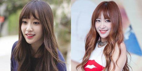 Nhung guong mat V-line an tuong cua idol Kpop - Anh 1