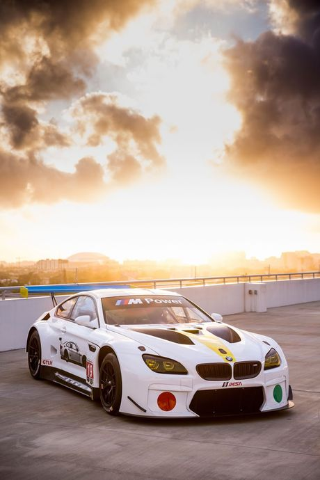BMW trinh lang M6 GTLM 'sieu doc' - Anh 1