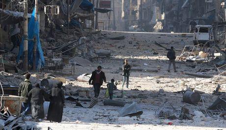 Aleppo that thu, Donald Trump se tu bo hau thuan phe doi lap Syria - Anh 1