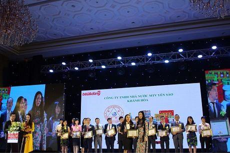 Yen sao Khanh Hoa lot Top 50 nhan hieu hang dau Viet Nam - Anh 2