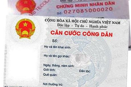 Chinh thuc thu le phi lam the Can cuoc cong dan - Anh 1