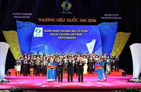 Vietcombank - 5 lan lien tiep dat Thuong hieu Quoc gia - Anh 1