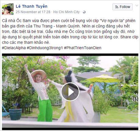 "Cac ba me Viet phat sot voi ""Vo nguoi ta"" cua Thu Trang - Manh Quynh - Anh 5"
