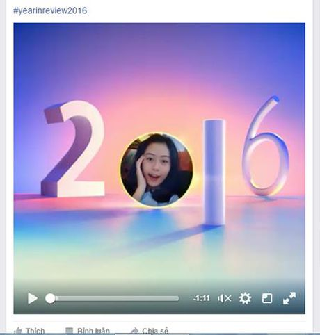Nguoi dung Facebook o Viet Nam dua nhau 'Nhin lai mot nam' - Anh 1