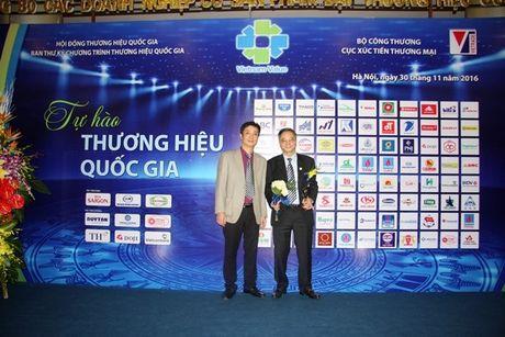 Lan thu 3 lien tiep Viglacera duoc vinh danh 'Thuong hieu quoc gia' - Anh 3
