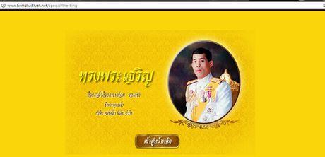 Nhieu quoc gia gui loi chuc mung Tan vuong Thai Lan - Anh 4