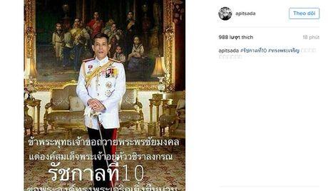 Nhieu quoc gia gui loi chuc mung Tan vuong Thai Lan - Anh 6