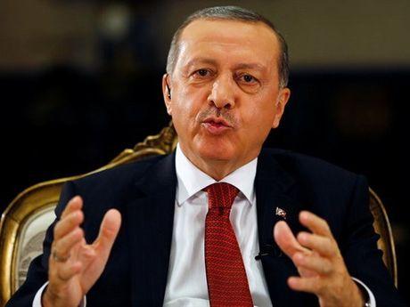 Tong thong Erdogan 'doi giong' khi dua quan vao Syria? - Anh 1