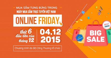 San khuyen mai 'khung' giam toi 50%, Online Friday chinh thuc bat dau - Anh 1