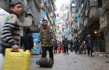 Nga to LHQ dung giao hang vien tro cho Aleppo, Syria - Anh 1