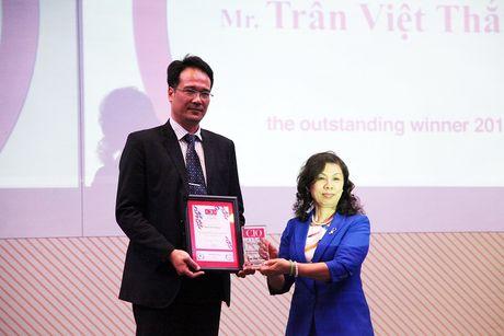 CIO Ngan hang MB duoc vinh danh la 'Lanh dao CNTT Dong Nam A tieu bieu' - Anh 1