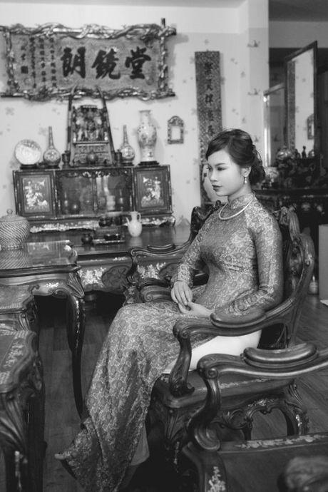 Bo anh cuoi 'Ky uc Dong Duong' doc dao cua cap doi Ha Thanh - Anh 3