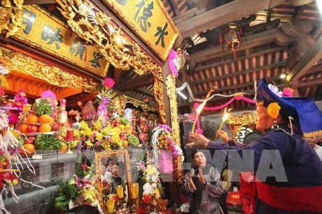 Tin nguong tho Mau Tam phu duoc UNESCO cong nhan la Di san van hoa phi vat the - Anh 1