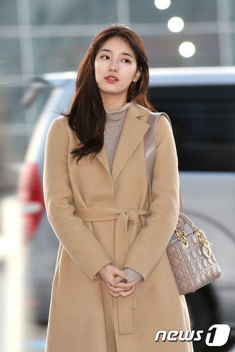 Suzy sang chanh len duong du MAMA, G-Dragon va TOP trum kin mit di Nhat - Anh 7