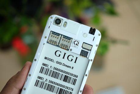 Mo hop smartphone gia re Gigi Dream 8, gia 2,3 trieu dong - Anh 3