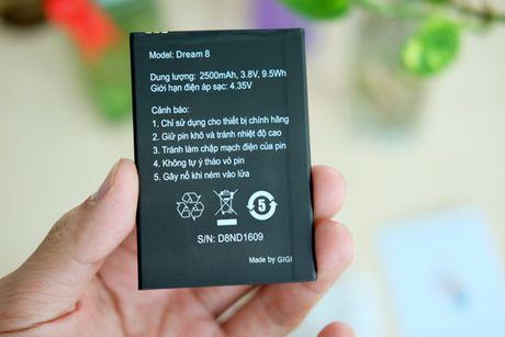 Mo hop smartphone gia re Gigi Dream 8, gia 2,3 trieu dong - Anh 5