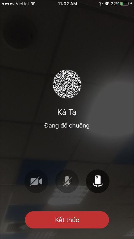 Zalo phien ban iOS cap nhat tinh nang video call, chup anh nhanh hon - Anh 3