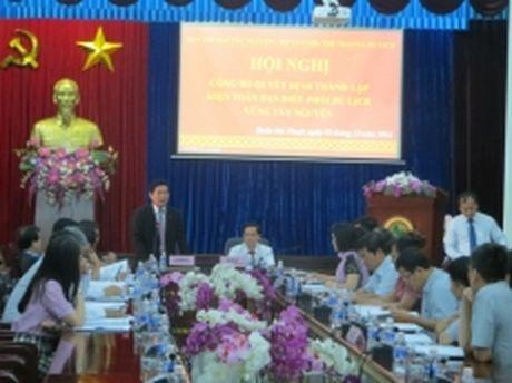 Thanh lap Ban Dieu phoi phat trien du lich vung Tay Nguyen - Anh 1