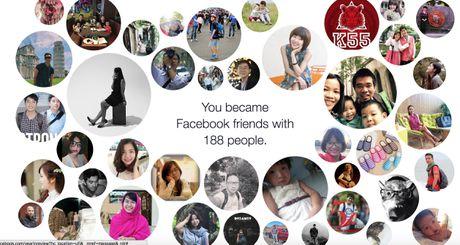 Facebook ra tinh nang tong ket 2016 - Anh 1
