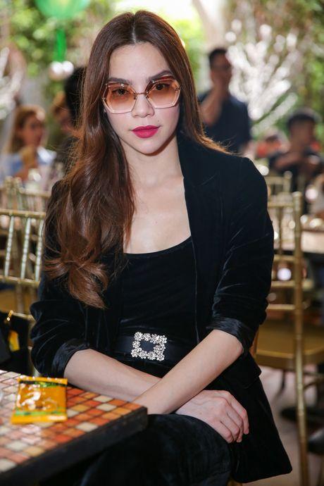 Ho Ngoc Ha deo kinh che met moi den du hop bao Bui Anh Tuan - Anh 3
