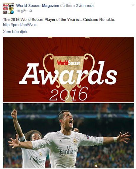 Ronaldo don tin vui truoc them sieu kinh dien - Anh 1