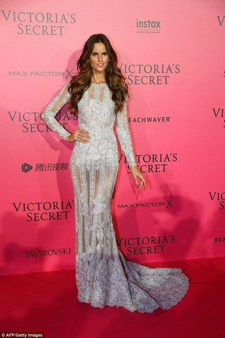 Man khoe noi y phan cam trong buoi tiec hau Victoria's Secret - Anh 5