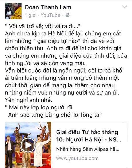 Khong the tin noi NSUT Quang Ly da qua doi - Anh 8