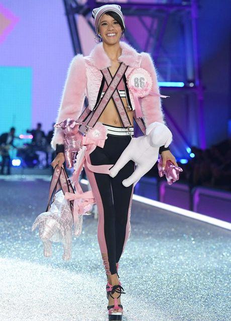 Nhung man trinh dien 'thang hoa' trong Victoria's Secret Fashion Show 2016 - Anh 30