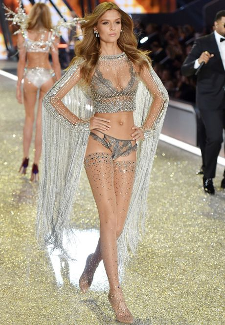 Nhung man trinh dien 'thang hoa' trong Victoria's Secret Fashion Show 2016 - Anh 53