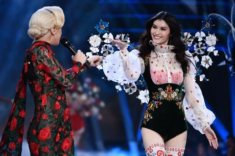 Nhung man trinh dien 'thang hoa' trong Victoria's Secret Fashion Show 2016 - Anh 60