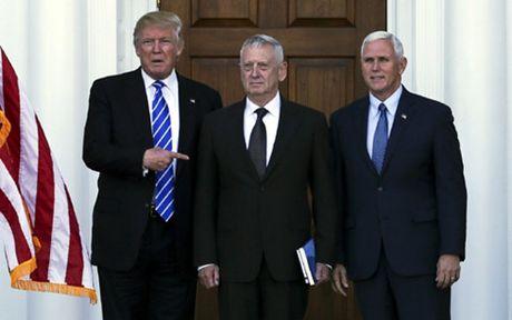 Trump chi dinh 'tu si chien binh' Mattis lam Bo truong Quoc phong - Anh 1