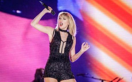 Taylor Swift bo xa Adele lan One Direction ve thu nhap - Anh 1