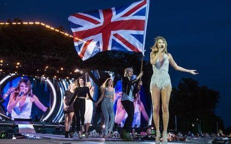 Taylor Swift bo xa Adele lan One Direction ve thu nhap - Anh 2