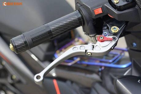 Yamaha Exciter 150 Matte Black do kieng 'sieu ngau' - Anh 3