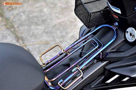 Yamaha Exciter 150 Matte Black do kieng 'sieu ngau' - Anh 4