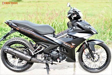 Yamaha Exciter 150 Matte Black do kieng 'sieu ngau' - Anh 8