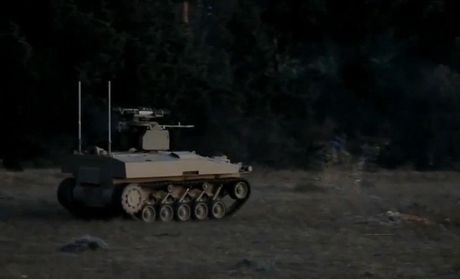 Robot chien tranh Nga da o Syria, phien quan IS coi chung - Anh 10