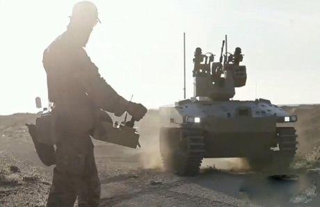 Robot chien tranh Nga da o Syria, phien quan IS coi chung - Anh 2