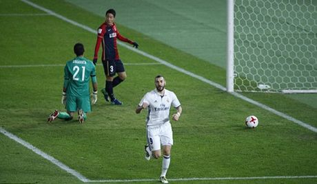 TRUC TIEP Real Madrid 1-0 Kashima Antlers: Benzema lap cong - Anh 3