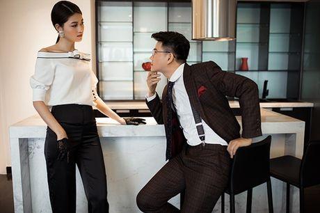 A hau Thanh Tu tu tin lam mau anh ben MC Vu Manh Cuong - Anh 4