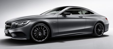 Mercedes-Benz S-Class Coupe se co 3 phien ban dac biet Night Edition - Anh 1