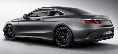 Mercedes-Benz S-Class Coupe se co 3 phien ban dac biet Night Edition - Anh 2