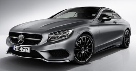 Mercedes-Benz S-Class Coupe se co 3 phien ban dac biet Night Edition - Anh 5
