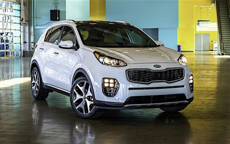 Kia Sportage GT Line 2017 them tuy chon dong co va hop so - Anh 1