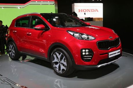 Kia Sportage GT Line 2017 them tuy chon dong co va hop so - Anh 2