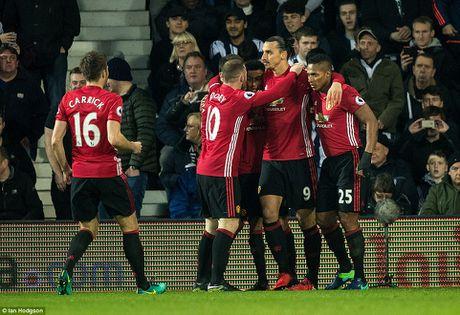 Man United danh bai West Brom nho cu dup cua Ibrahimovic - Anh 1