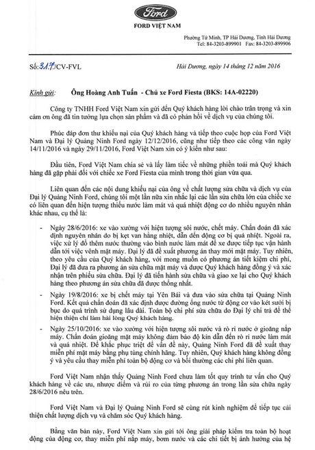 Quang Ninh Ford gap rac roi vi chat luong dich vu sua chua - Anh 4